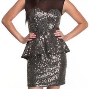 Baby Phat Peplum Dress- Size Medium